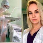Enfermera atendió a pacientes con coronavirus en ropa interior y esto fue lo que pasó (FOTOS)