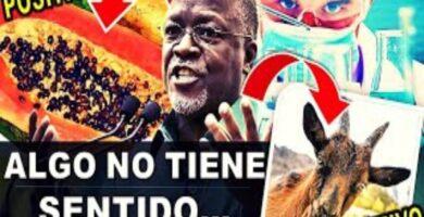 Presidente de Tanzania envía pruebas falsas de animales y frutas a la OMS y dieron positivo al Covid-19