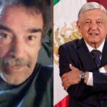 """Damián Alcazar reafirma su voto por AMLO; """"ha sido el más destacable Presidente en bastantes años""""."""
