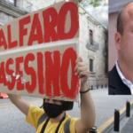 Protestan en Jalisco contra el Gobierno de Enrique Alfaro exigiendo justicia por el caso Giovanni Lopez