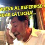 """[VIDEO] Fernandez Noroña llora al hablar de AMLO """"Nunca nadie tendrá un presidente como Lopez Obrador"""""""