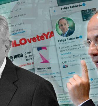 [VÍDEO] Utilización de Bots para ataques al gobierno, Felipe Calderon es retuiteado por cuentas Bots que operan contra AMLO, con el hashtag # AMLOVETEYA.